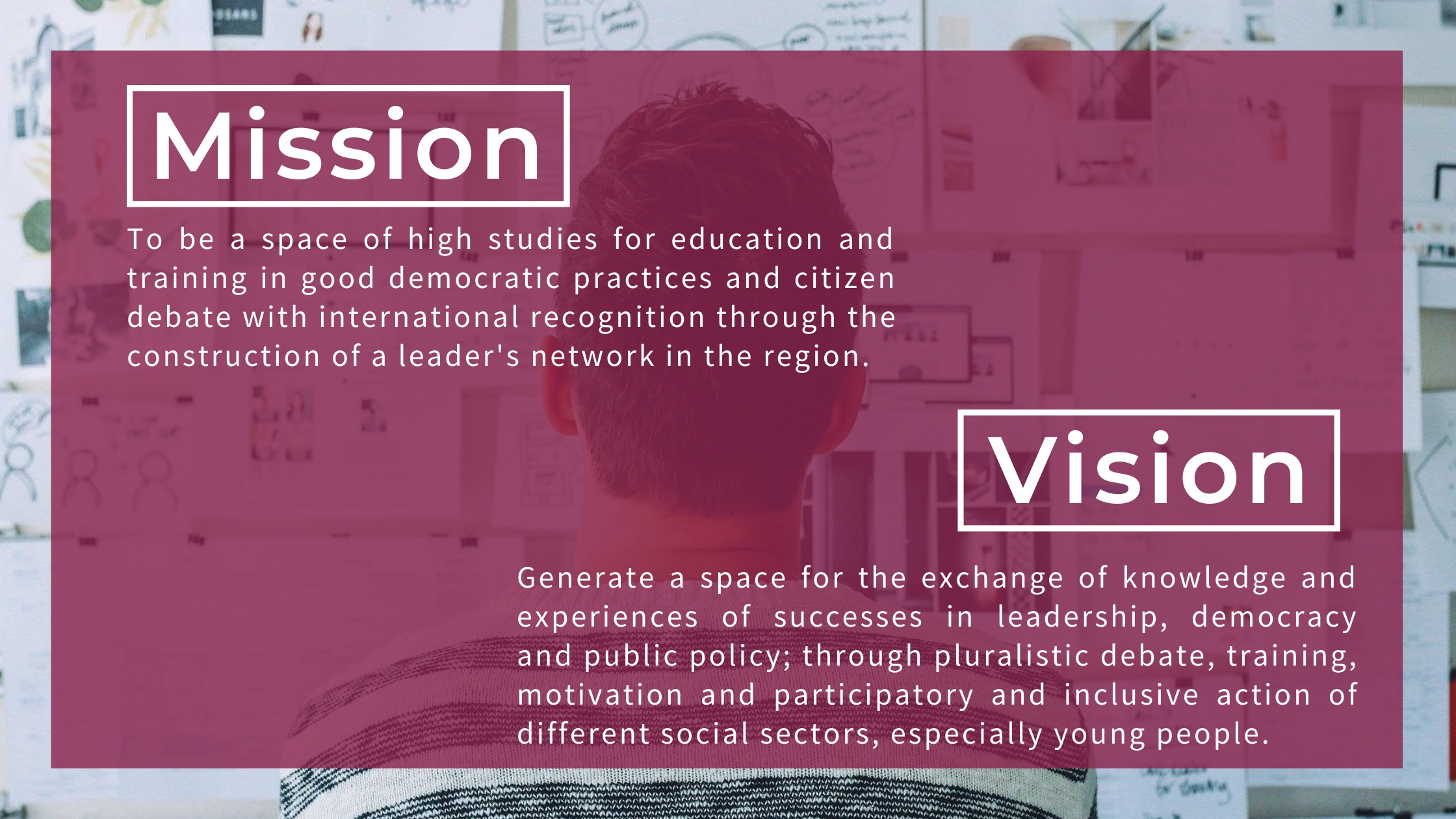 Mission, vision, Institute of Citizen Studies